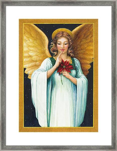 Christmas Angel Framed Print