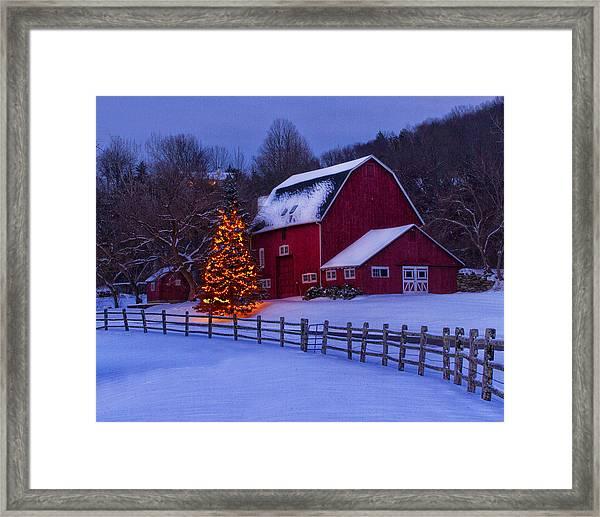A Very Connecticut Christmas Framed Print