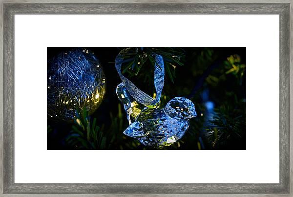 Christmas In Glass Framed Print