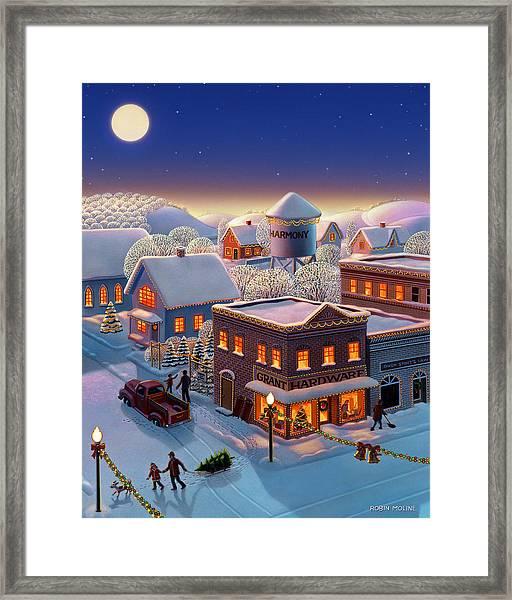 Christmas In Harmony Framed Print