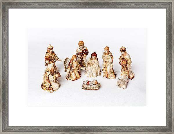 Christmas Nativity Framed Print