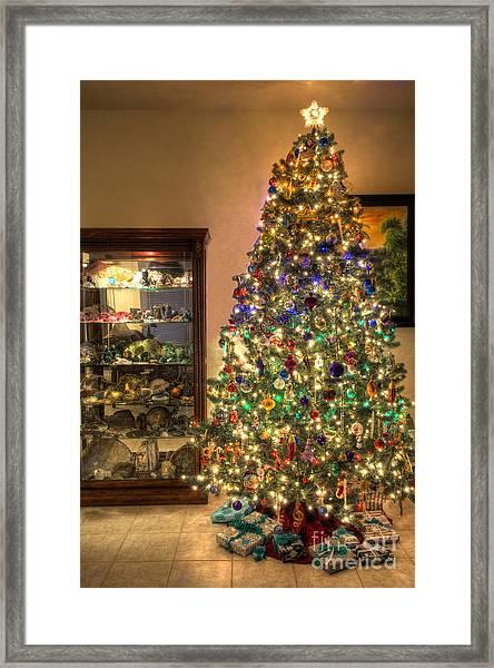 Christmas Tree Time Framed Print