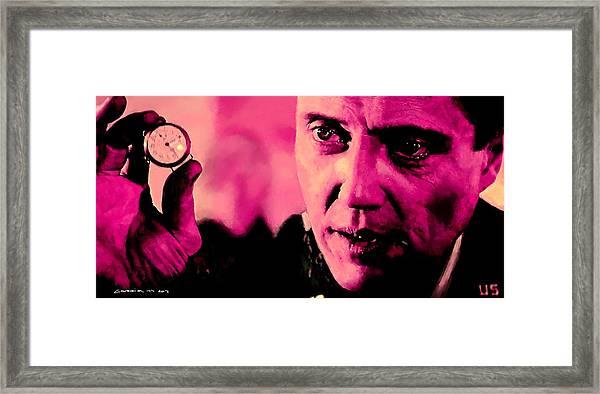 Christopher Walken @ Pulp Fiction Framed Print