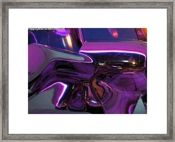Chrome Framed Print