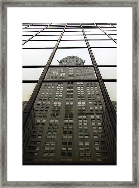 Chrysler Reflections Framed Print by John King