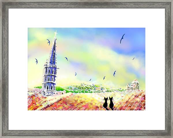 Church Bell Framed Print
