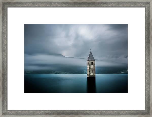 Church Of Graun Framed Print