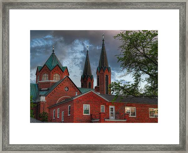 Church Of The Resurrection Framed Print