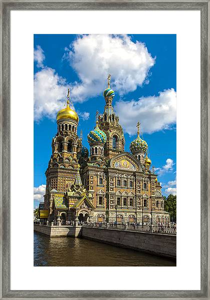 Church Of Spilled Blood Framed Print