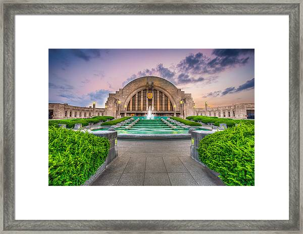 Cincinnati Museum Center Framed Print