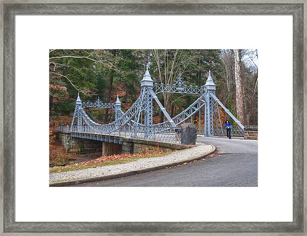 Cinderella Bridge Framed Print