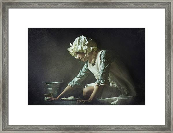 Cinderella Framed Print