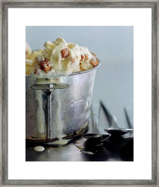 Cinnamon Toast Ice Cream Framed Print