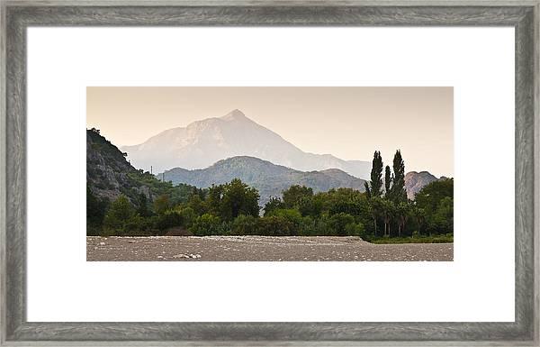 Cirali Framed Print