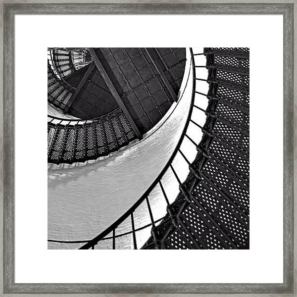 Circle In Square Framed Print