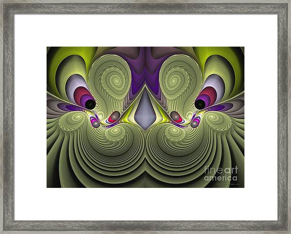 Circus - Surrealism Framed Print