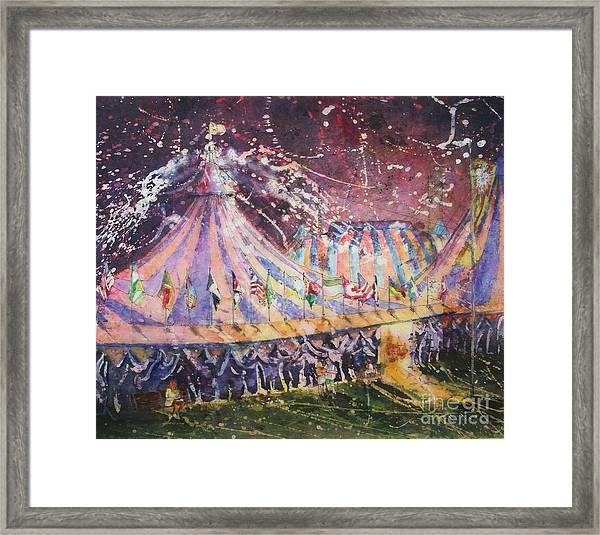 Cirque Magic Framed Print