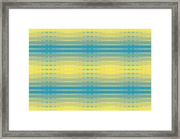 Citrus Warp 3 Framed Print