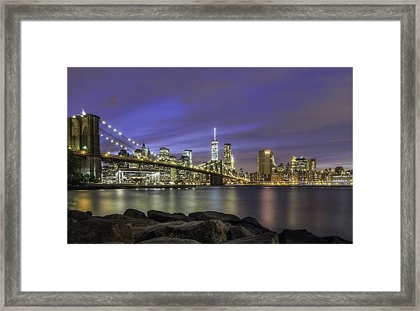 City 2 City Framed Print