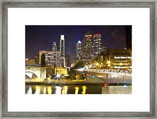 City Alive Framed Print