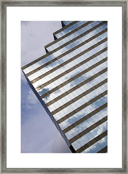 City Cloudscape Framed Print