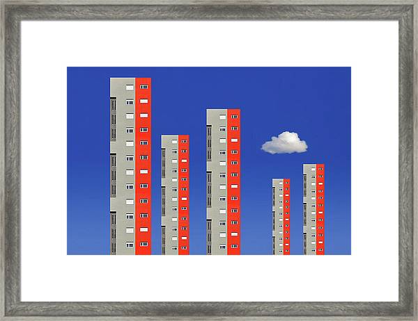 City Family Framed Print