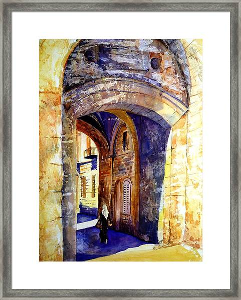 City Gate Framed Print
