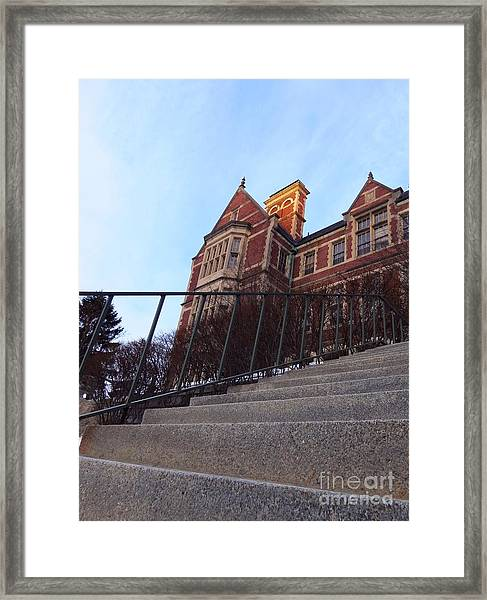 City Hall At Sunrise Framed Print