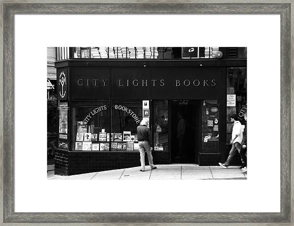 City Lights Bookstore - San Francisco Framed Print
