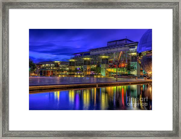 City Lights @bristol Framed Print