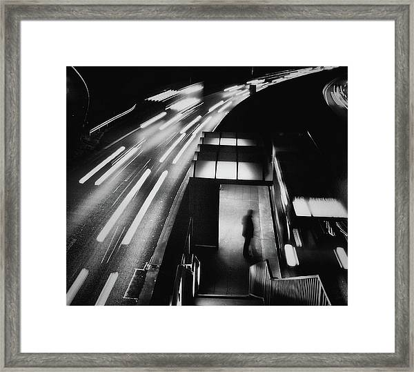 City Lights Framed Print by Holger Droste