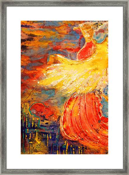 City Of An Angel Framed Print