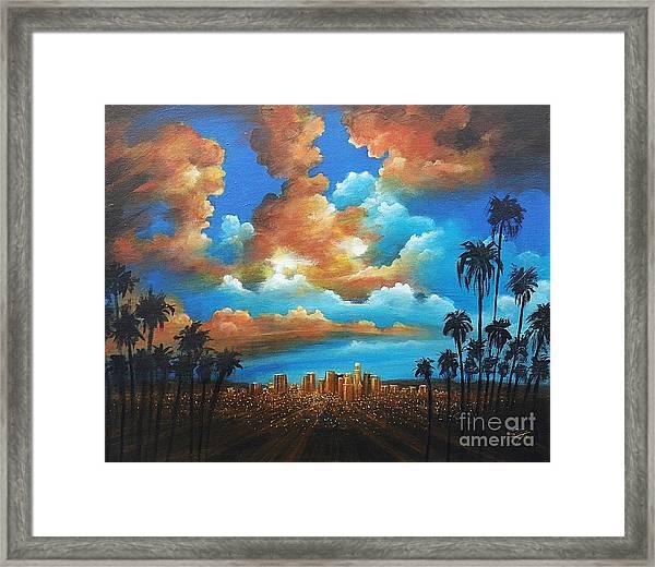 City Of Angels Framed Print