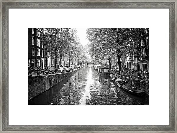 City Of Canals Framed Print