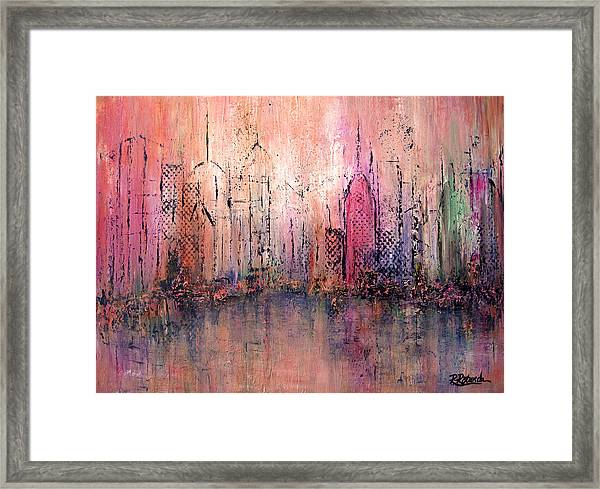 City Of Hope Framed Print