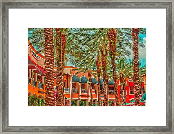 City Place Framed Print