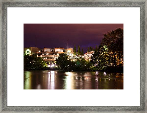 City Reflections Framed Print by Margaret Pitcher