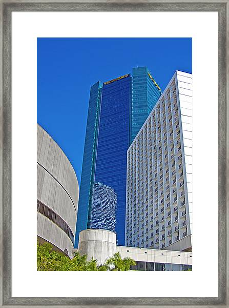 City Scape Framed Print