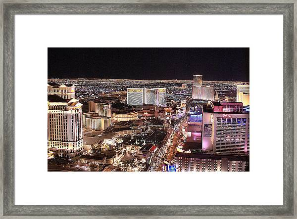 City Scapes Framed Print