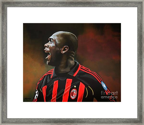 Clarence Seedorf Framed Print