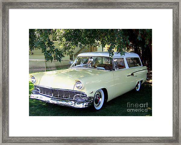 Classic 1956 Ford Ranch Wagon Framed Print