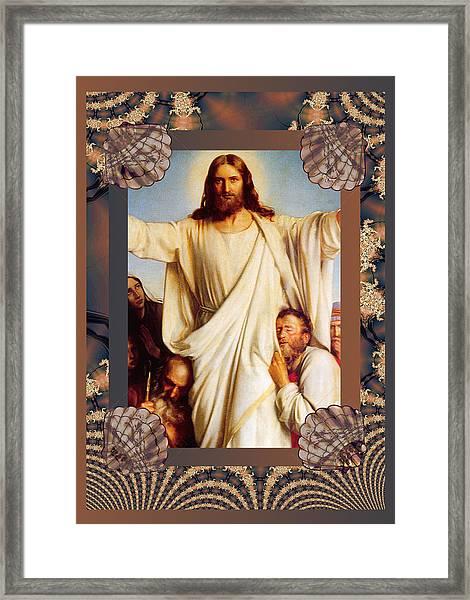 Classic Bloch Jesus Framed Print