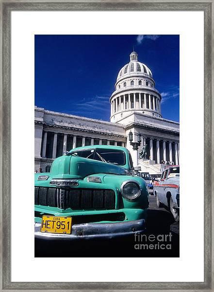 Classic Cuba Framed Print