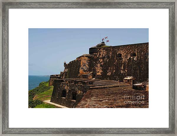 Classic El Morro Framed Print