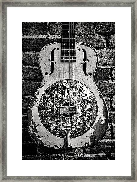 Classic In Black And White Framed Print