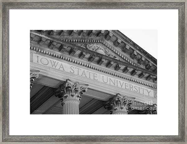 Classic Iowa State University Framed Print