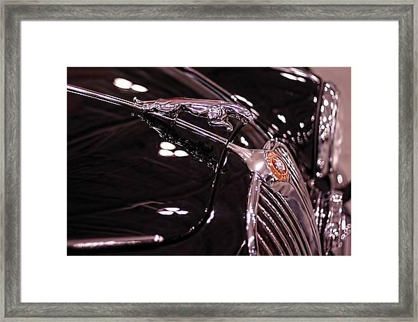 Classic Jaguar Framed Print