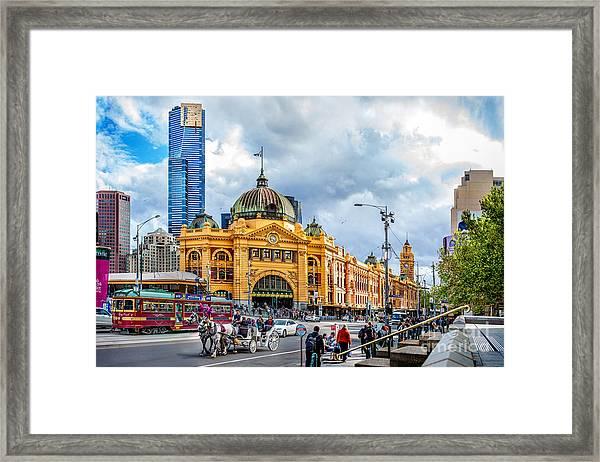 Classic Melbourne Framed Print