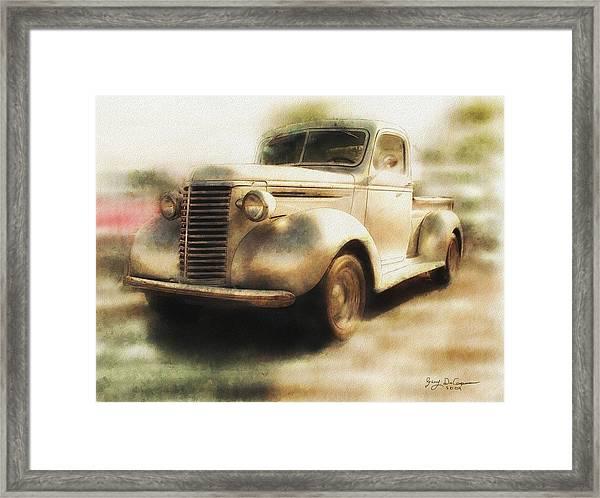 Classic Pickup Framed Print