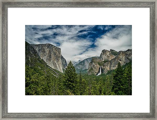 Classic Tunnel View Framed Print